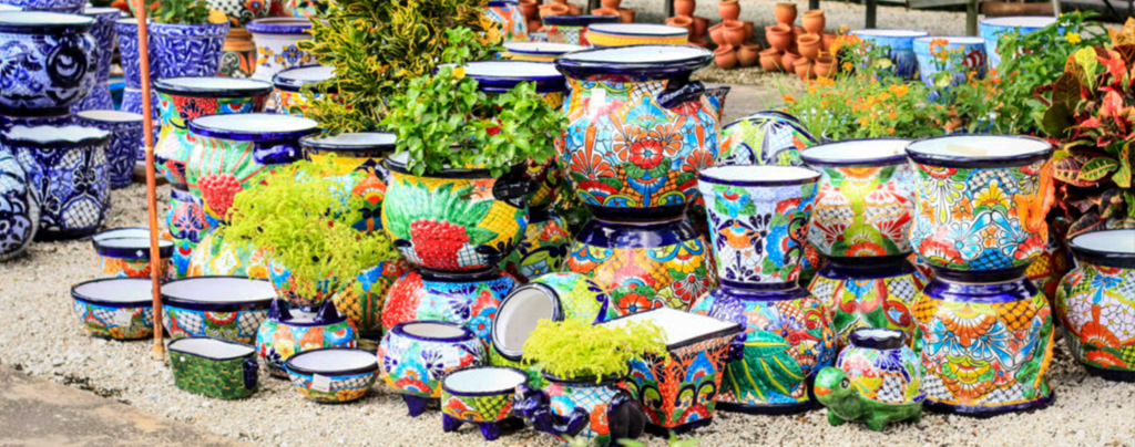 pottery-trends-2020-living-color-Talavera-pots