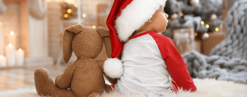 living-color-christmas-decoration-ideas-soft-plush-kid